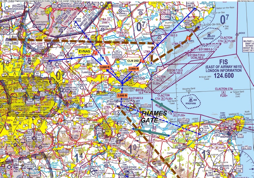 EasyJet Ops To Make London Southend Surrounding Class G Airspace - Class g airspace map