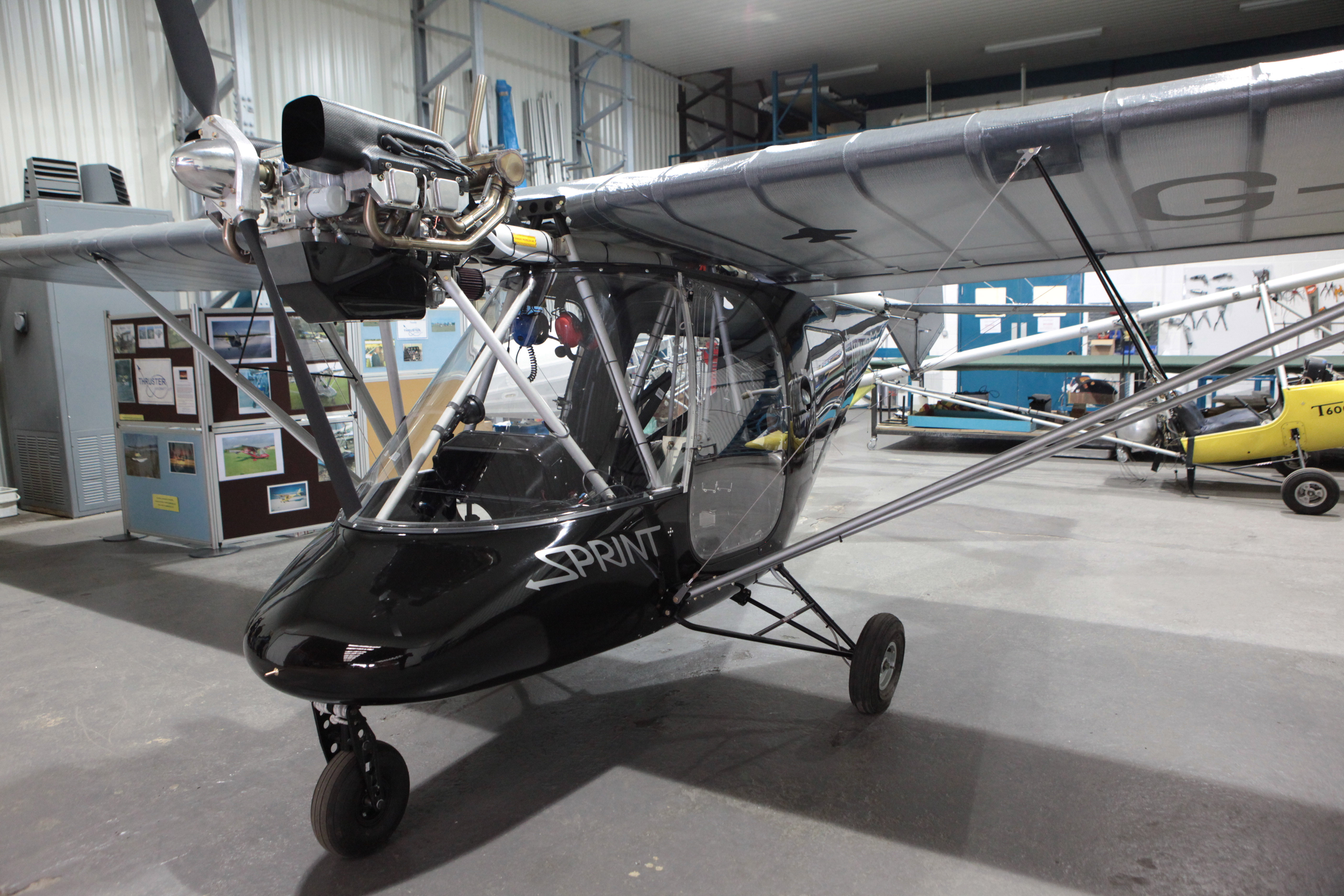 Thruster Microlight business for sale