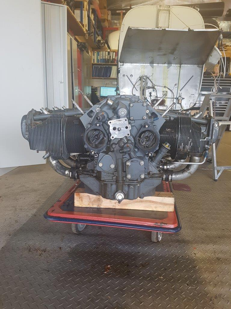 Lycoming Engine For Sale - 0-540-F1B5 - From R44 Raven 1 heli